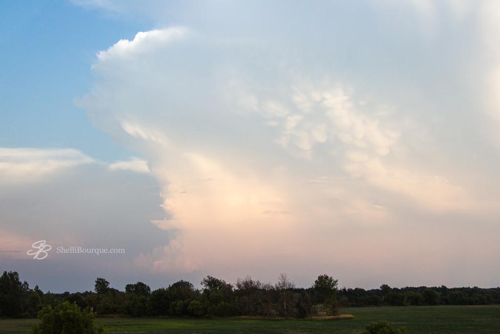 Mammatus Clouds scene - ShelliBourque